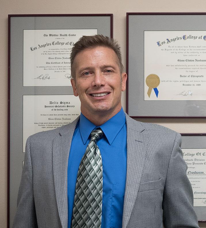 Glenn Nusbaum D.C. San Diego Chiropractor